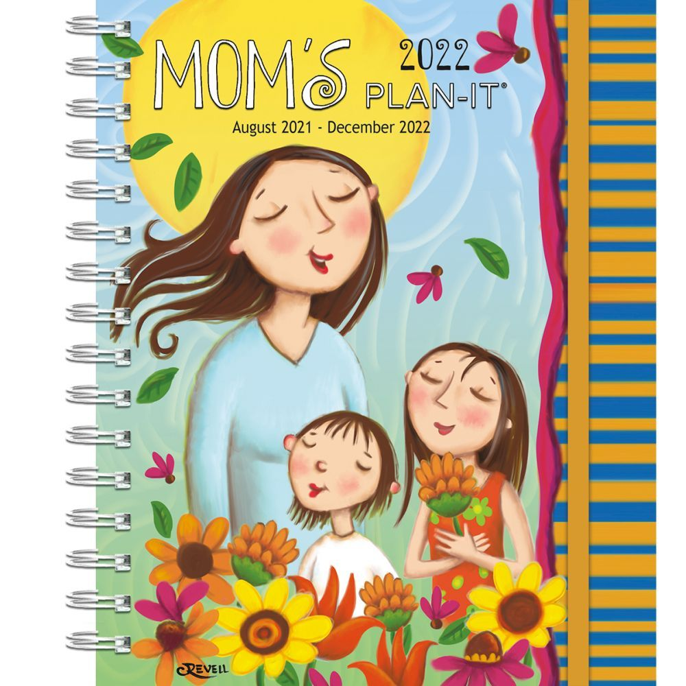 Mom's Plan-It 2022 Weekly Planner