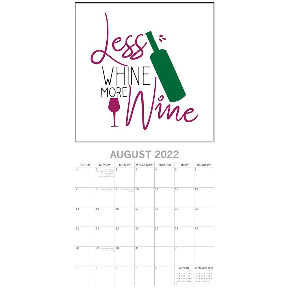 Wine Signs 2022 Wall Calendar