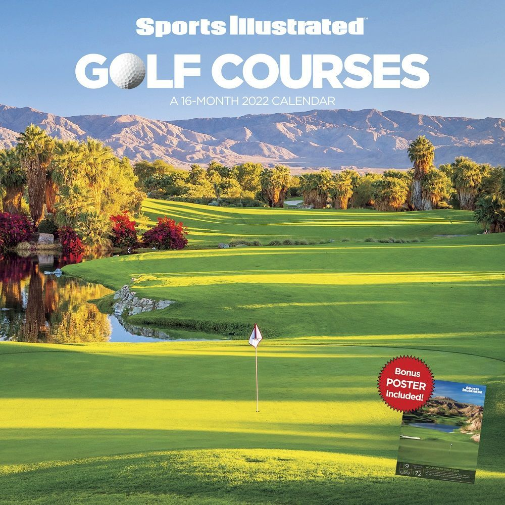 Sports Illustrated Golf Courses 2022 Wall Calendar
