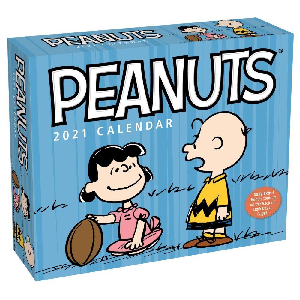 2021 Peanuts Desk Calendar
