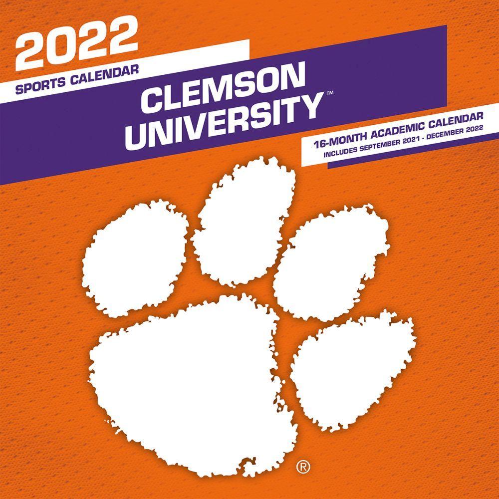 Clemson Calendar Fall 2022.Col Clemson Tigers 2022 Mini Wall Calendar Calendars Com