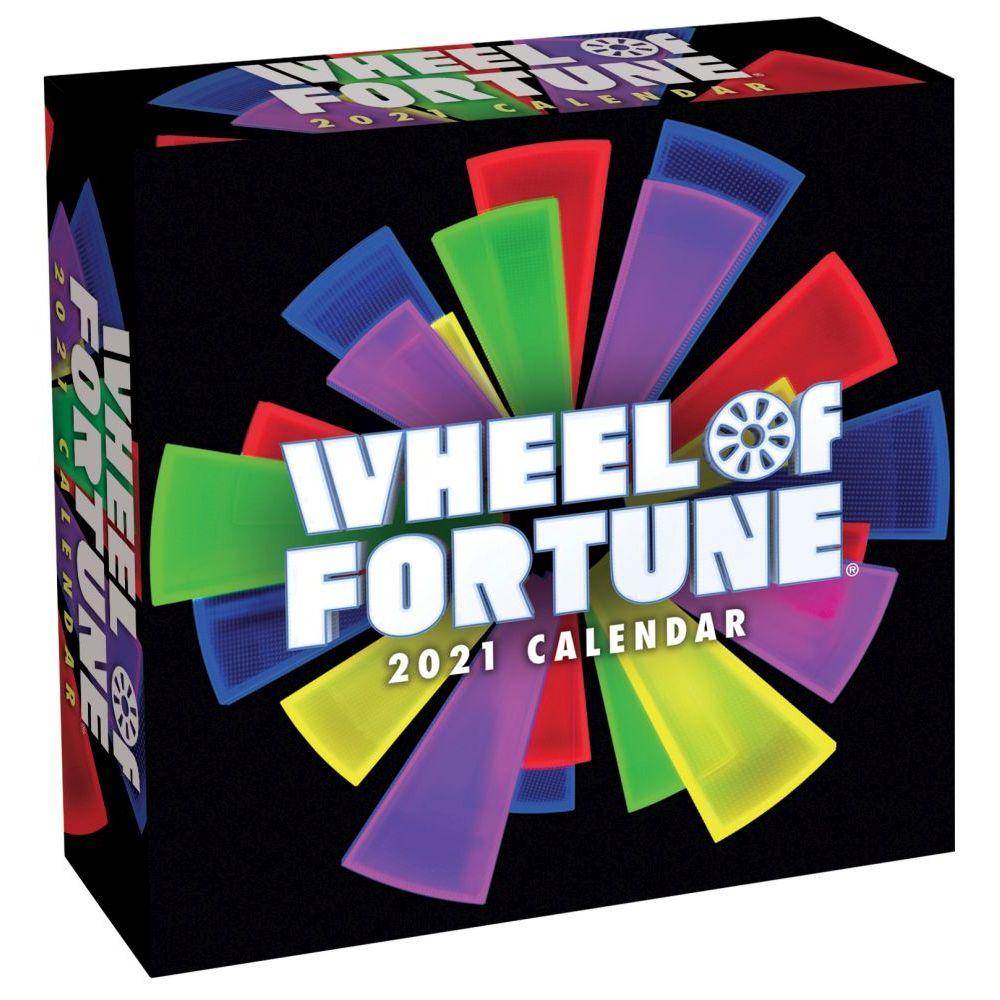 Wheel of Fortune 2021 Wall Calendar