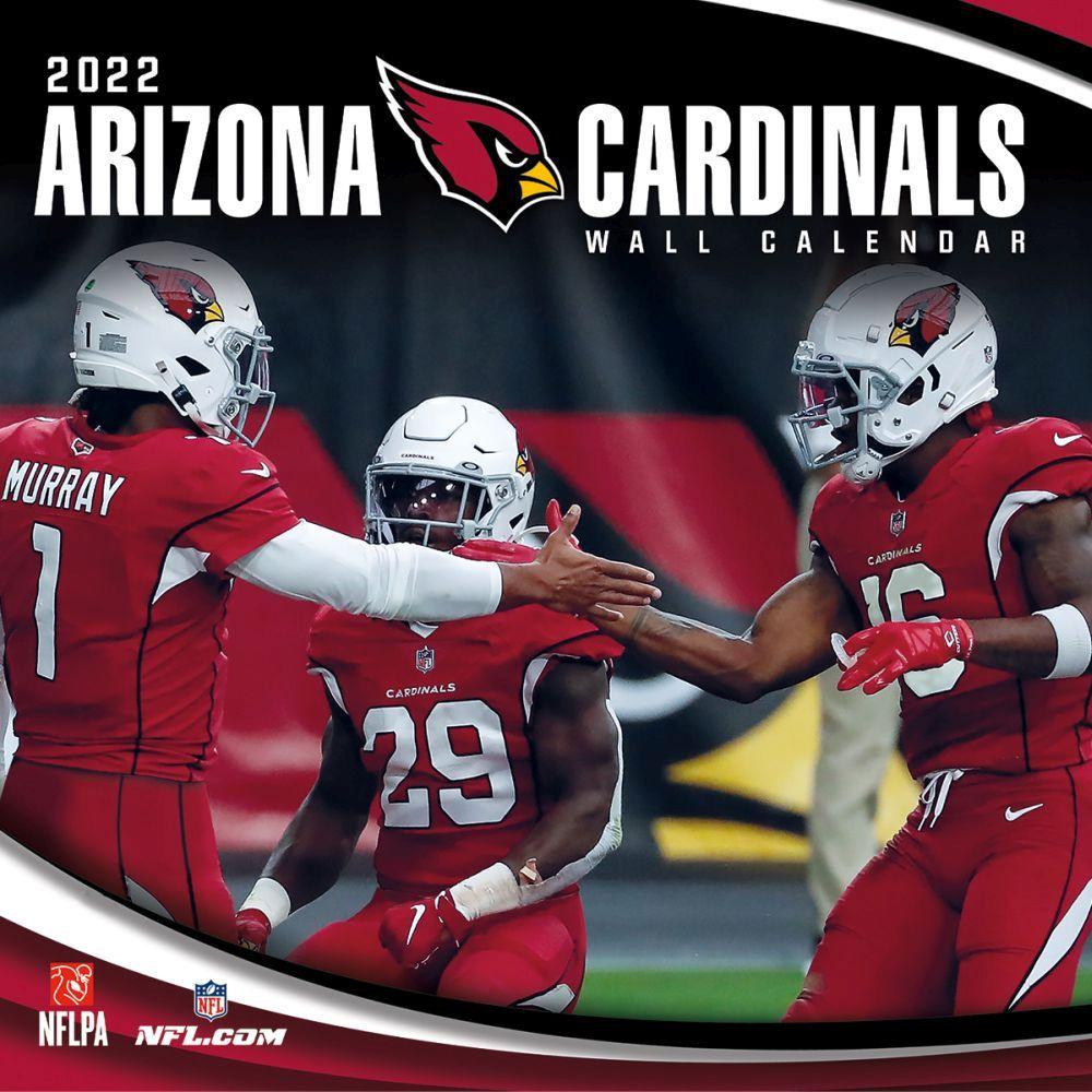 Arizona Cardinals 2022 Wall Calendar