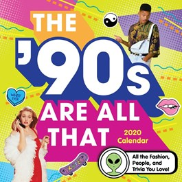 90s Are All That Wall Calendar