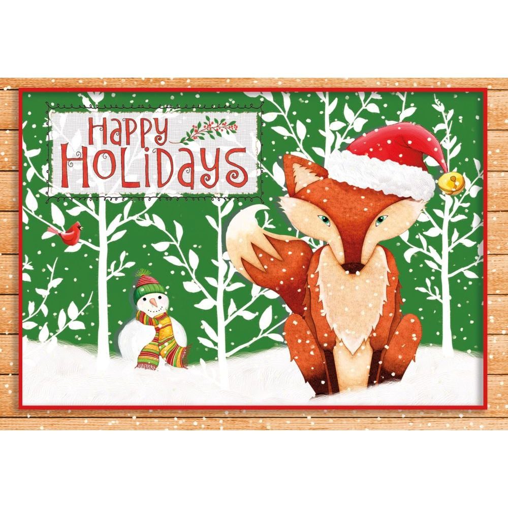 Holiday-Fox-3.5-In-X-5-In-Petite-Christmas-Cards-1