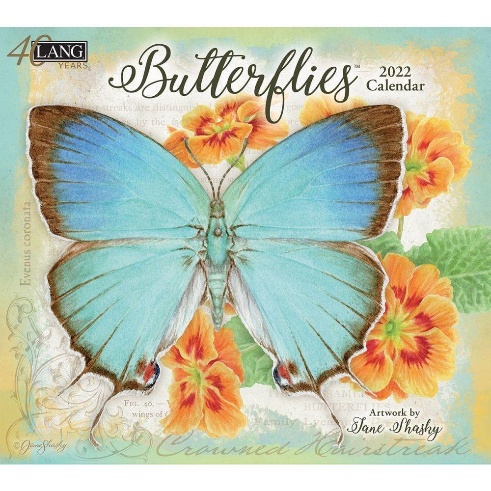 Butterflies 2022 Wall Calendar