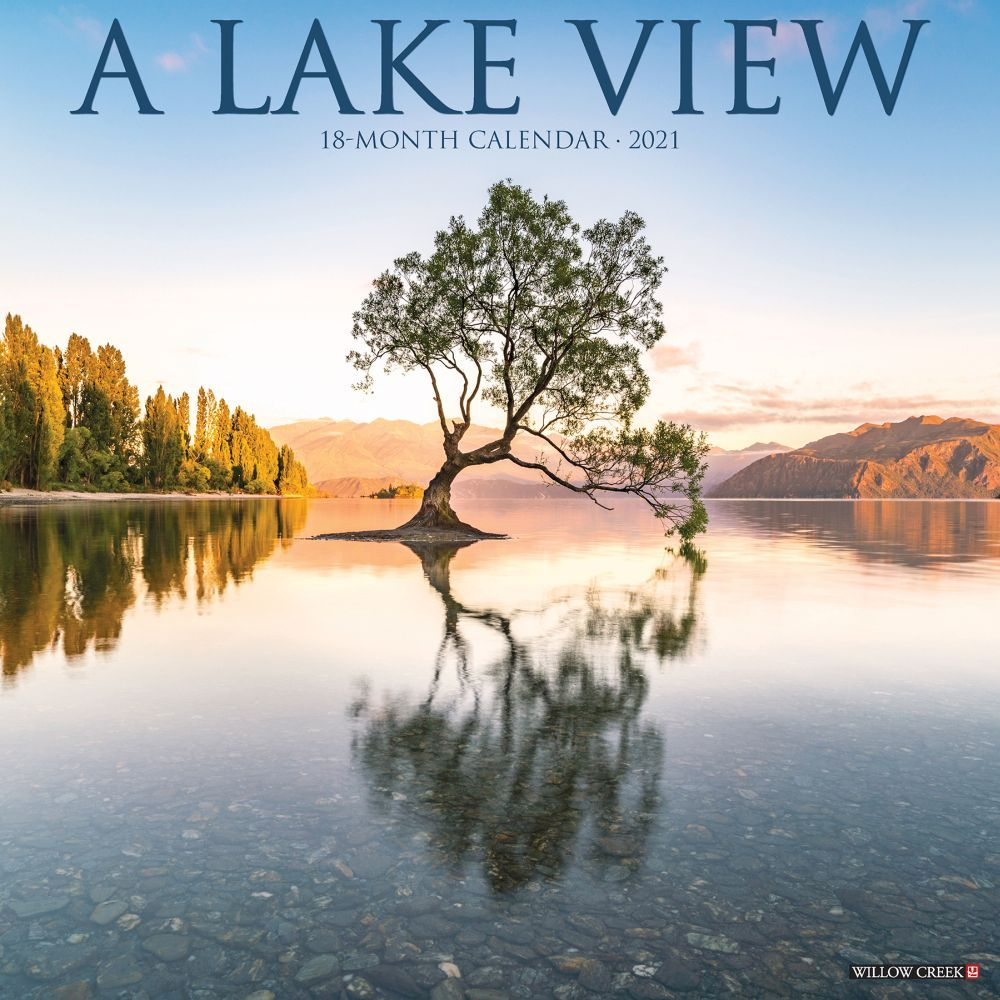 2021 Lake View Wall Calendar