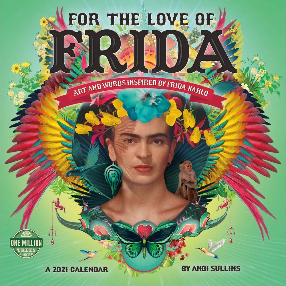 2021 For the Love of Frida Wall Calendar