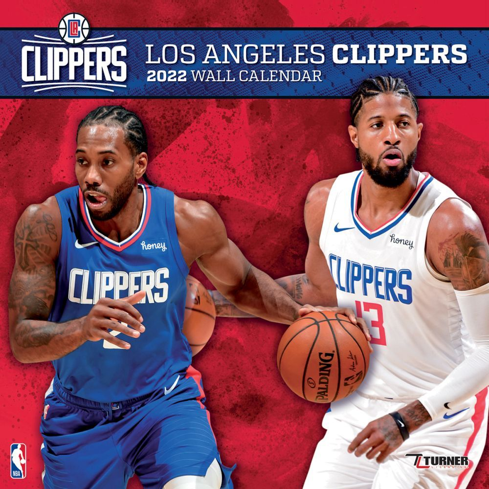 Los Angeles Clippers 2022 Wall Calendar