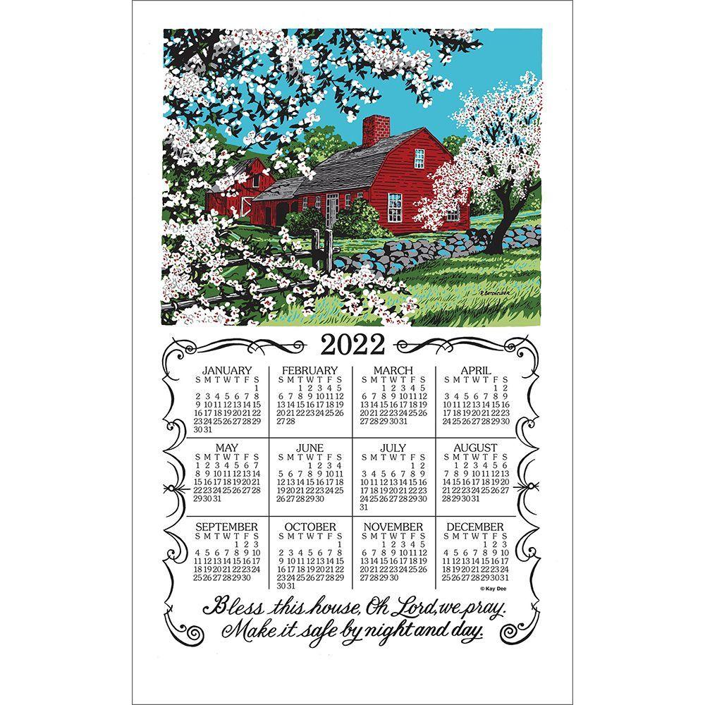 Bless This House 2022 Kitchen Towel Calendar