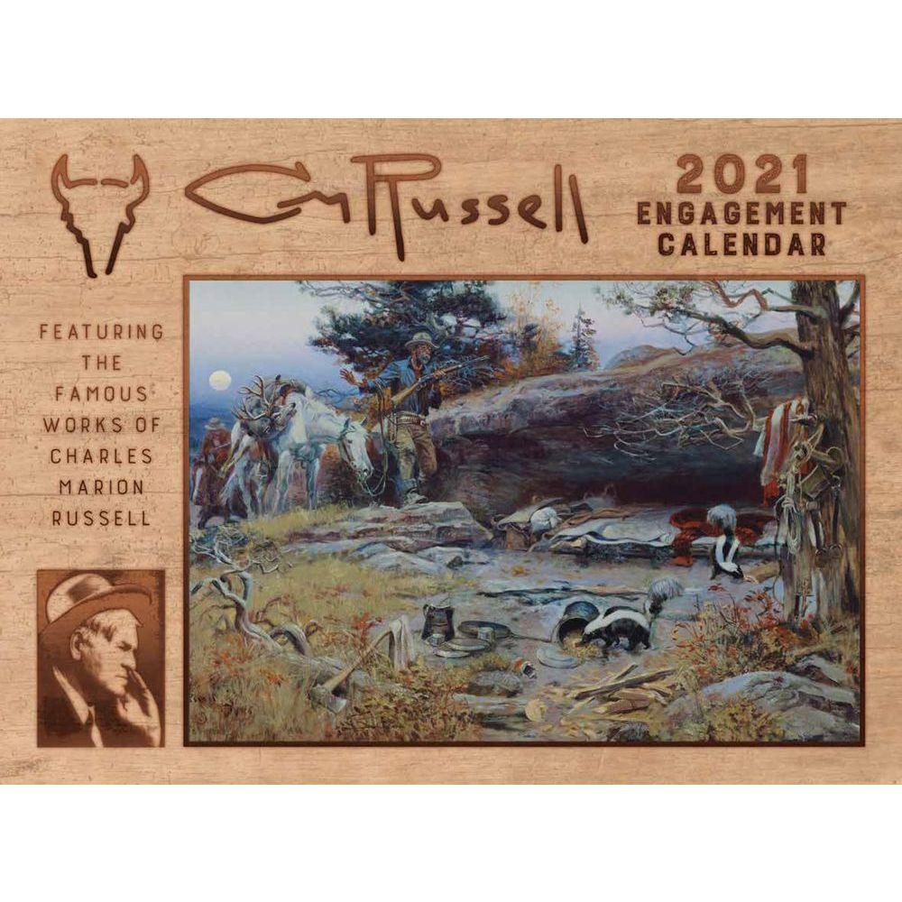 2021 Russell Wall Calendar