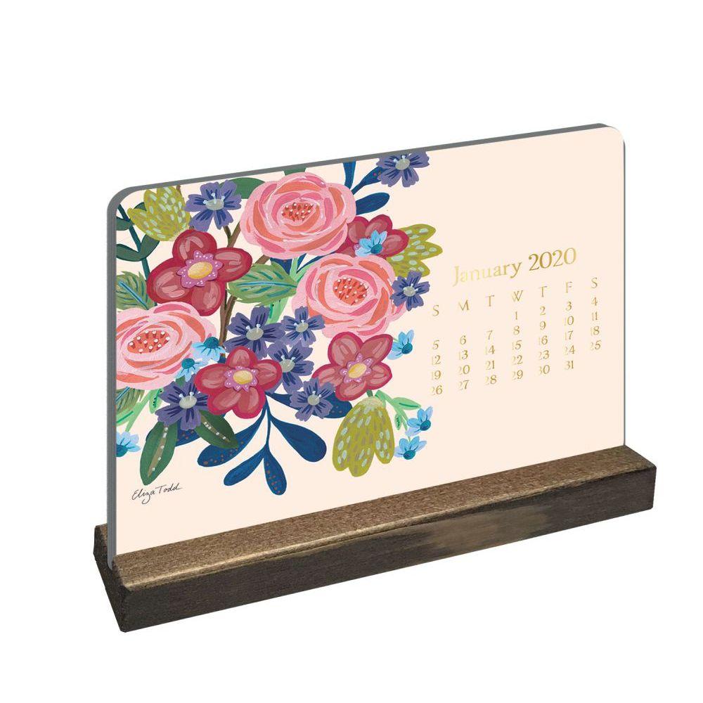 2021 Bloom Easel Desk Calendar