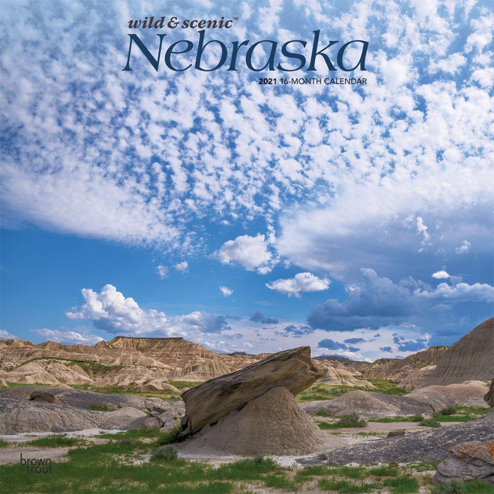 Nebraska Wild & Scenic 2021 Wall Calendar