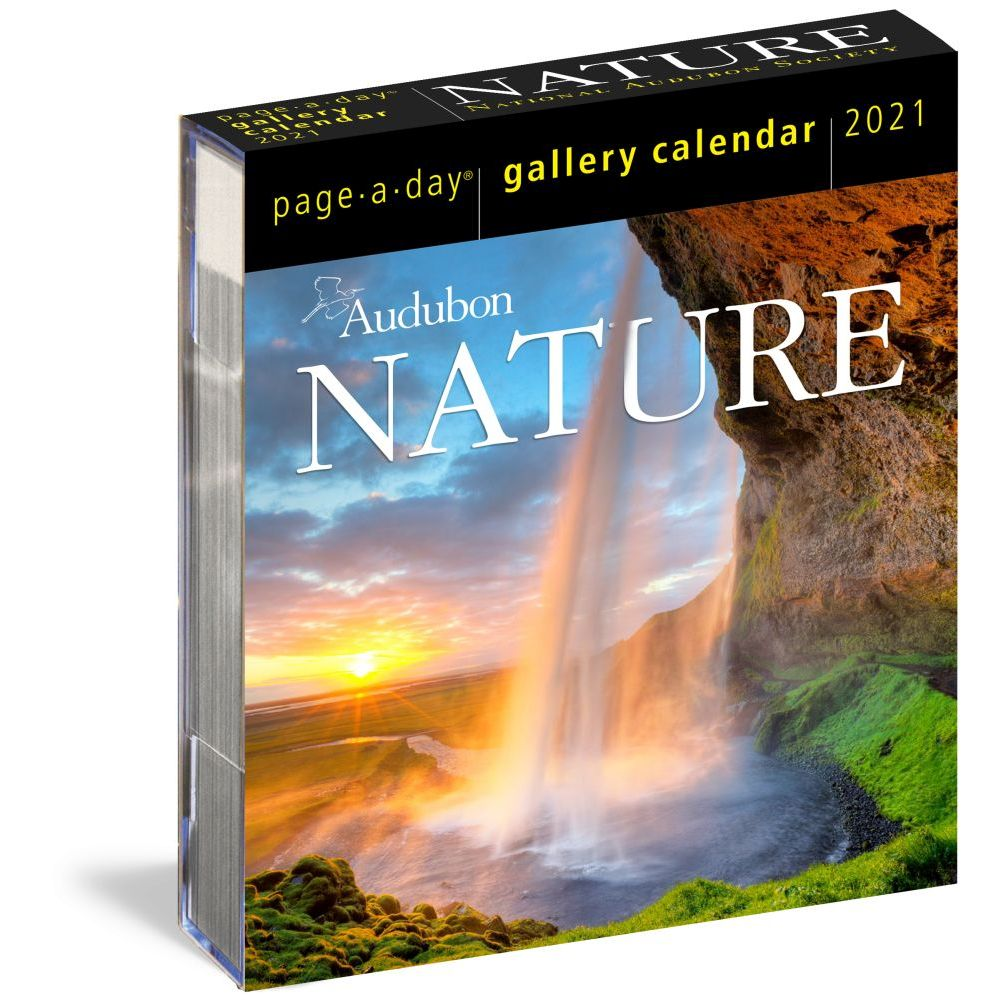 2021 Audubon Nature Page-A-Day Gallery Calendar