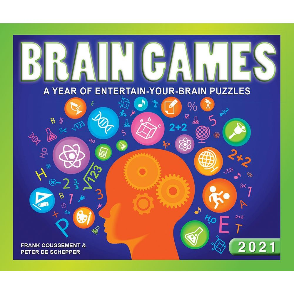 2021 Brain Games Desk Calendar