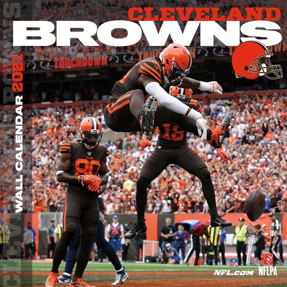 Cleveland Browns 2021 Wall Calendar