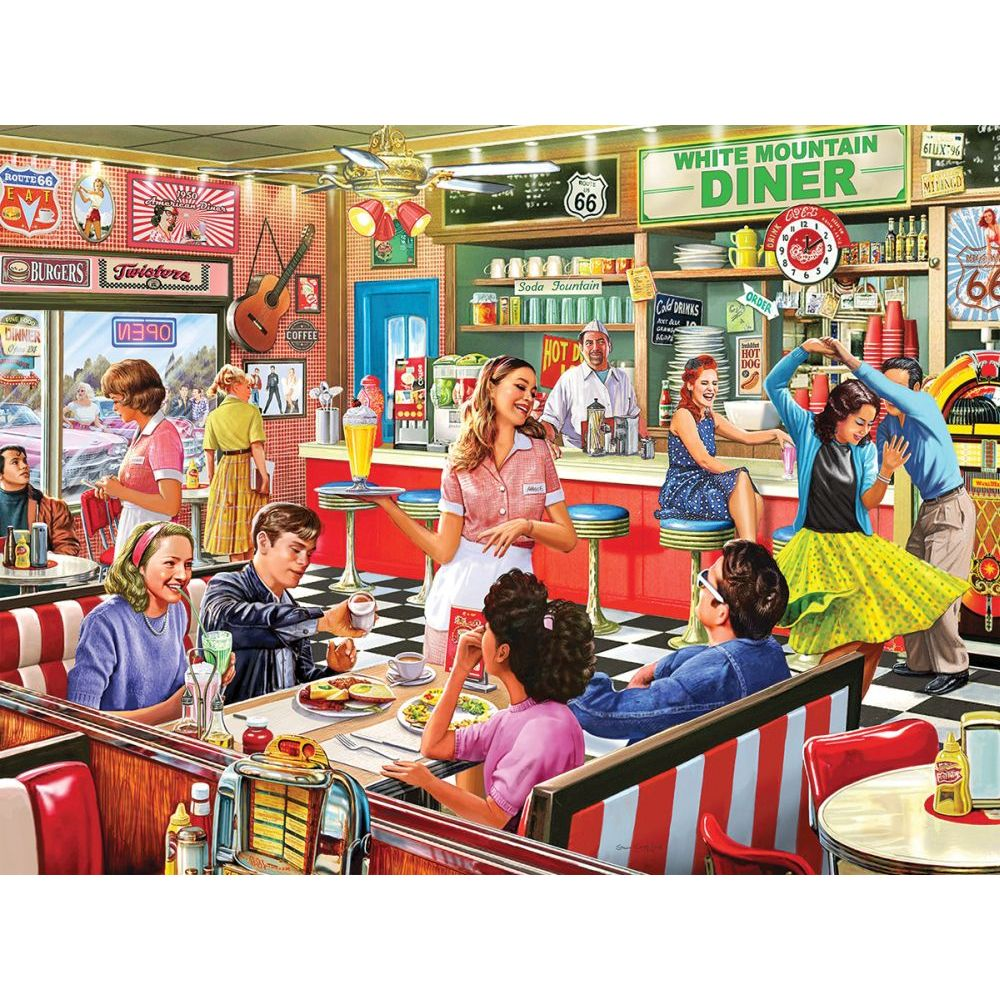 Best American Diner 1000pc Puzzle You Can Buy