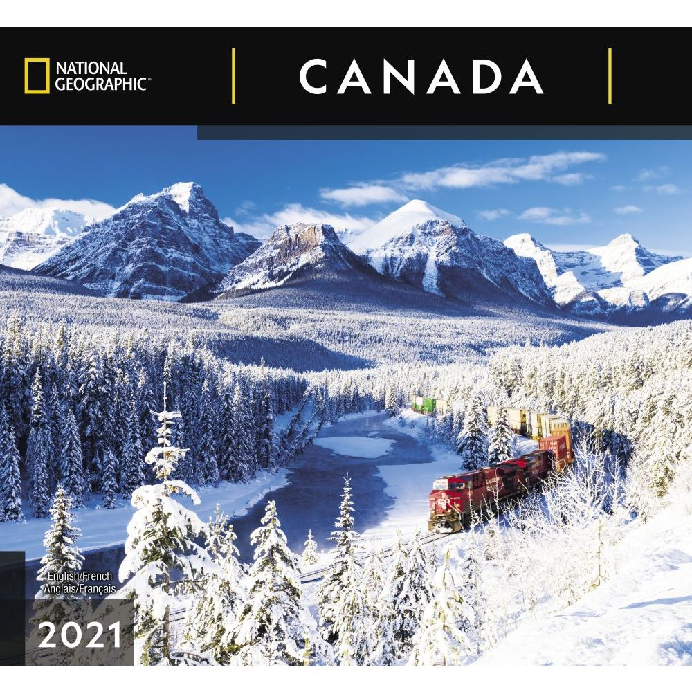 Canada National Geographic 2021 Wall Calendar