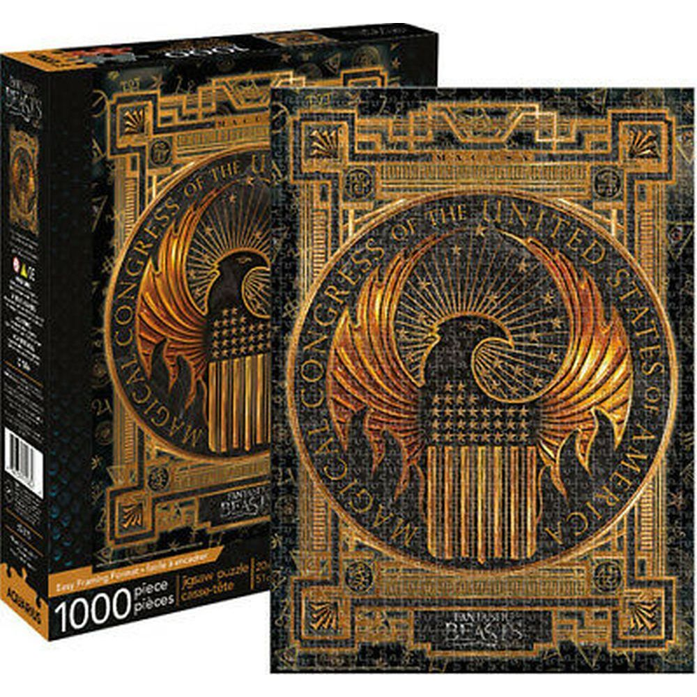 Best Fantastic Beasts MACUSA 1000pc Puzzle You Can Buy