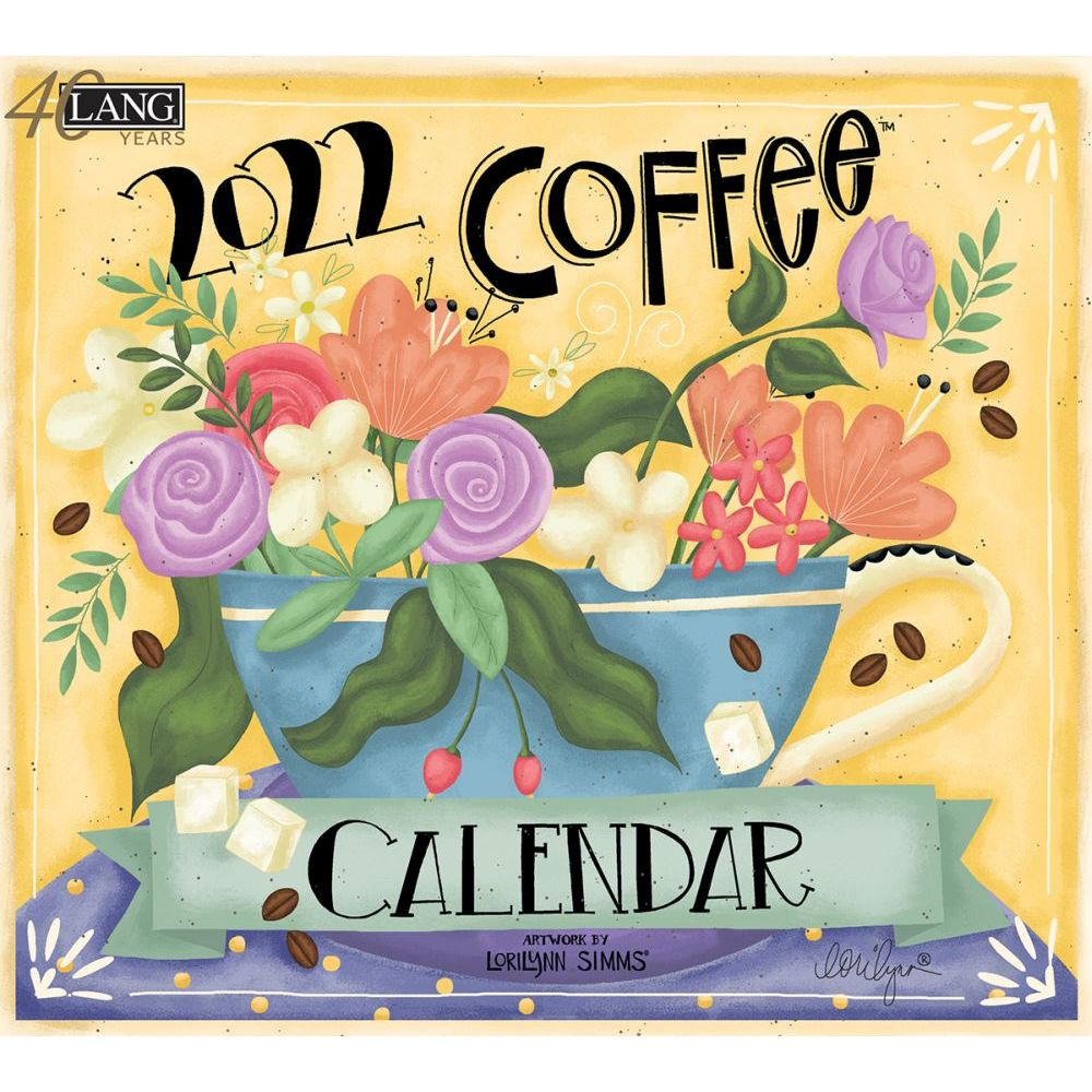Coffee 2022 Wall Calendar