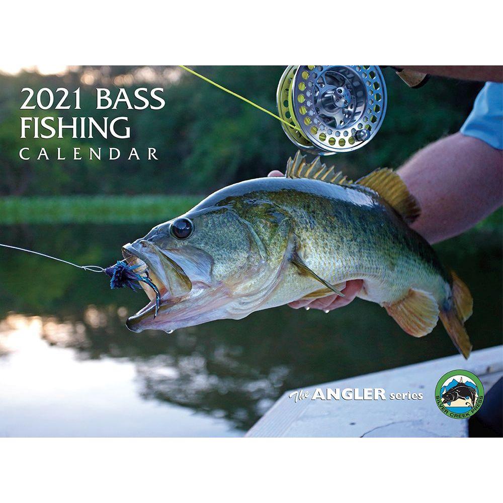 Bass Fishing 2021 Wall Calendar