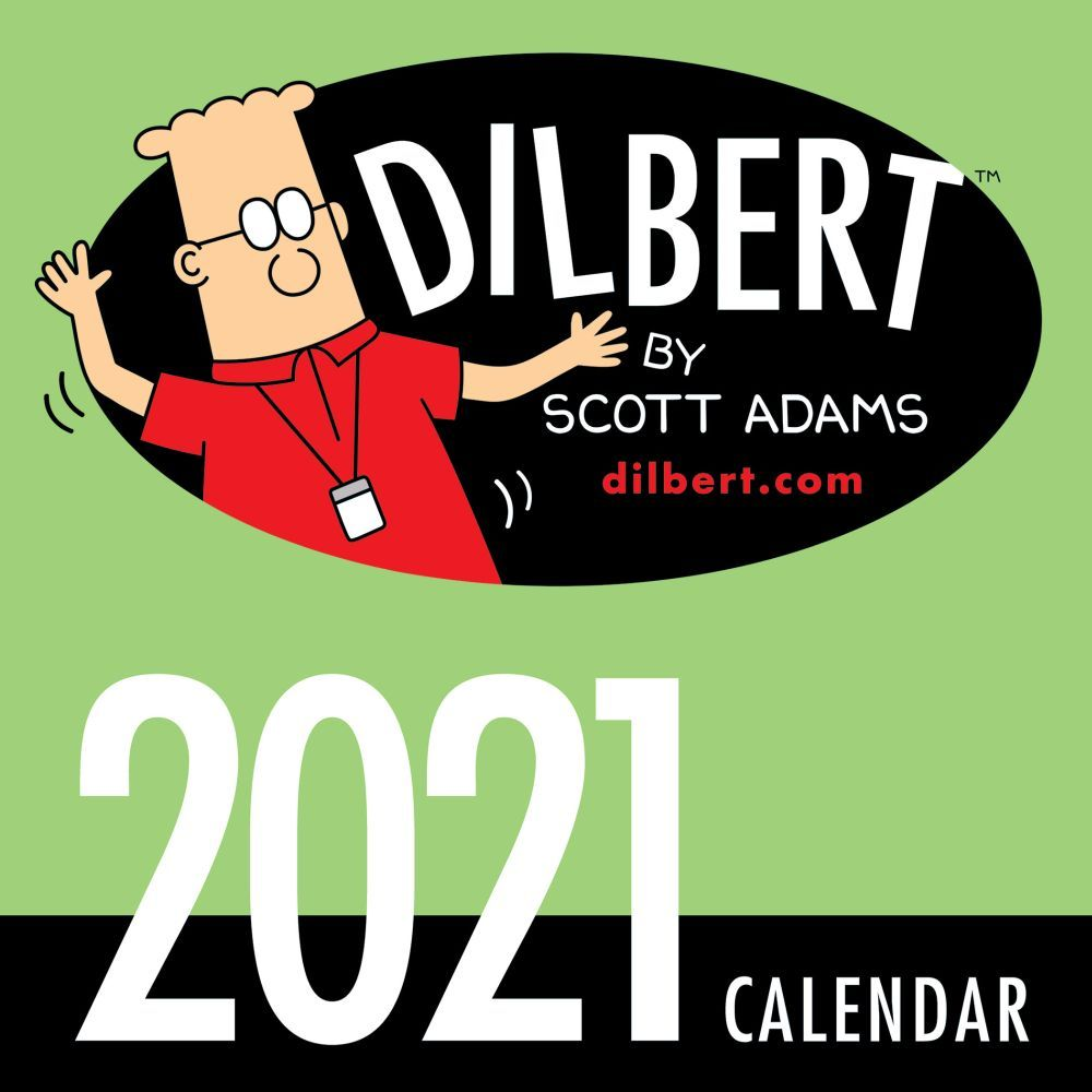 Dilbert 2021 Mini Wall Calendar