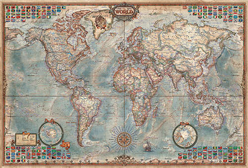 World-Executive-Map-4000-Piece-Puzzle-1