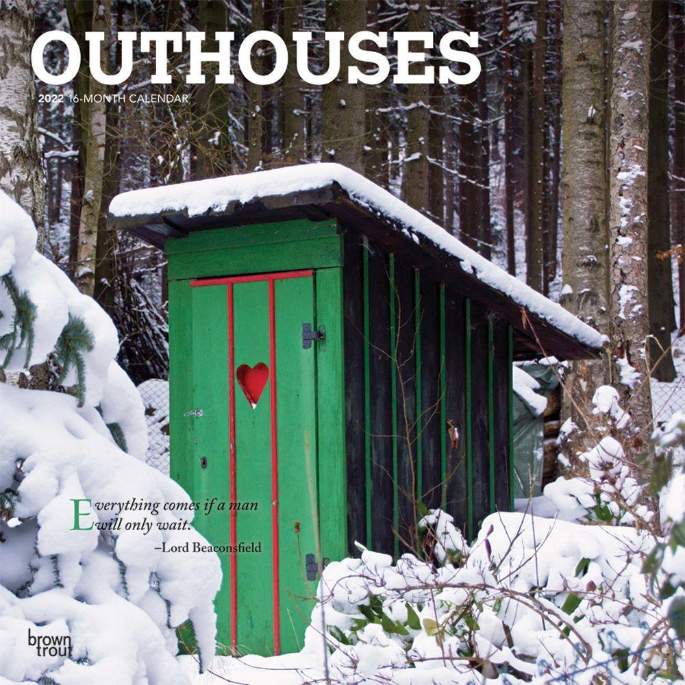 Outhouses 2022 Wall Calendar
