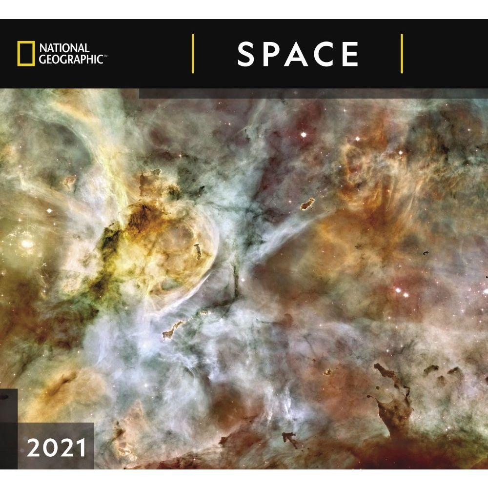 2021 Geographic Space NatGeo Wall Calendar