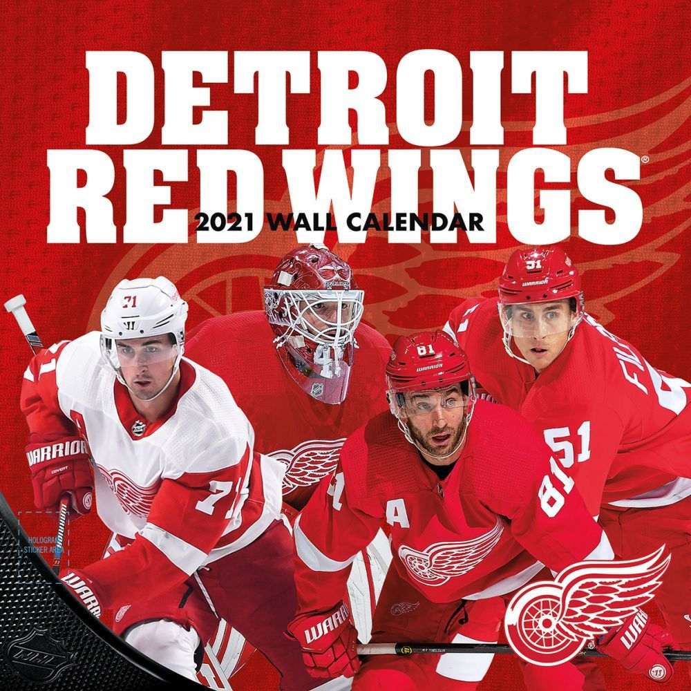 2021 Detroit Red Wings Wall Calendar
