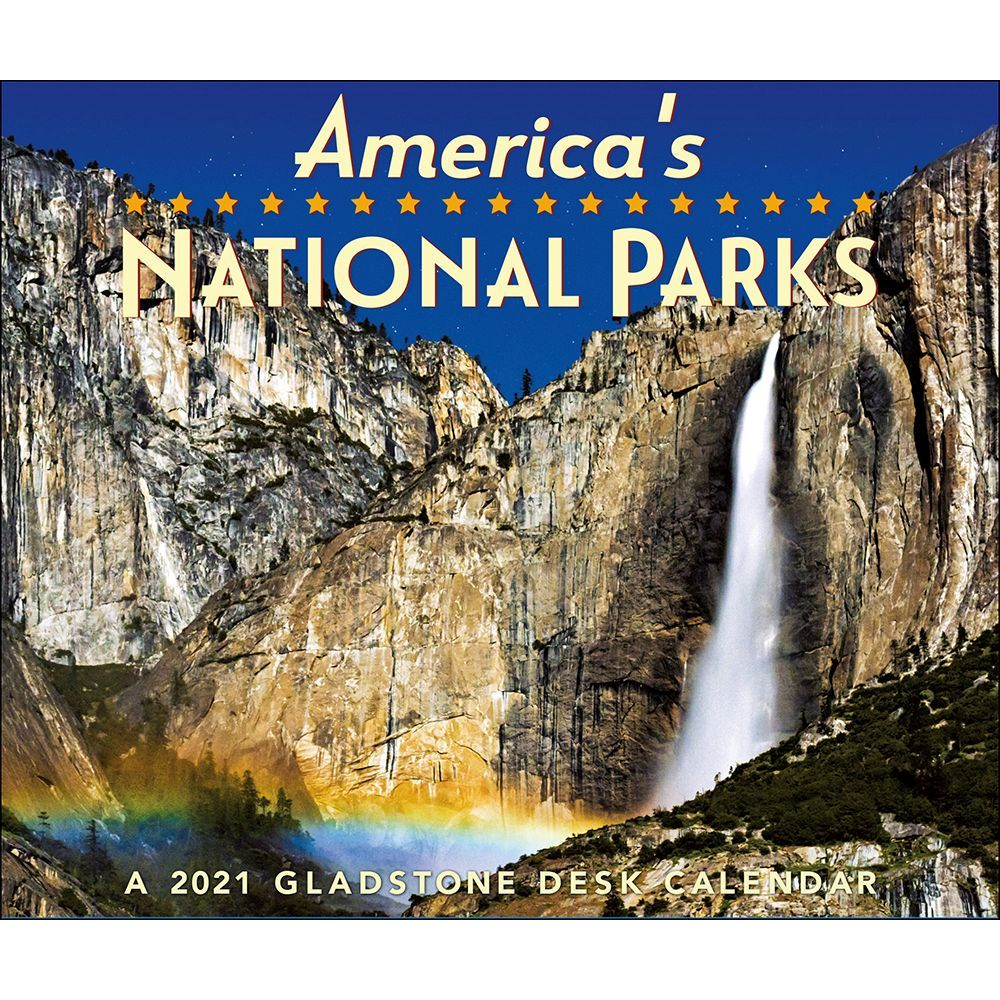 National Parks 2021 Desk Calendar