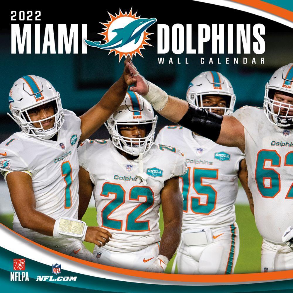 Miami Dolphins 2022 Wall Calendar