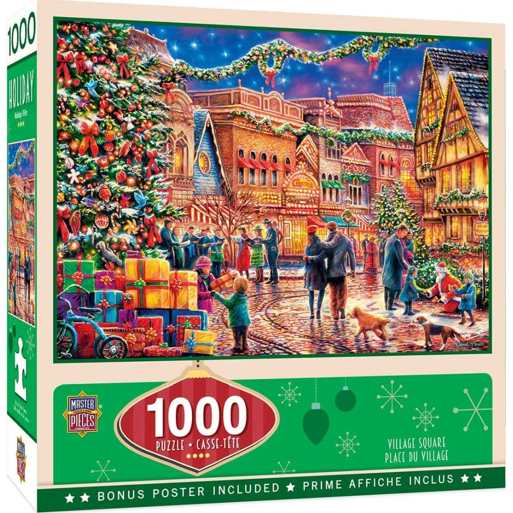 Best Village Square 1000pc Puzzle You Can Buy