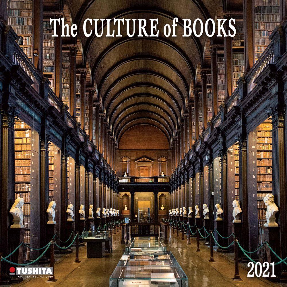 2021 Culture of Books Wall Calendar