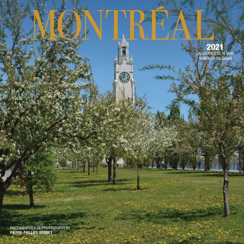 2021 Montreal Wall Calendar