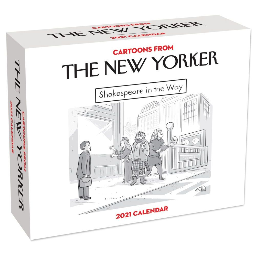 2021 New Yorker Cartoons Desk Calendar