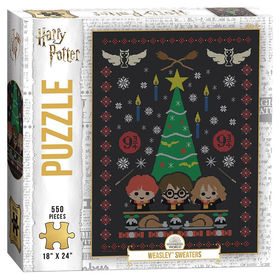 Best Harry Potter Weasley Sweaters 550pc Puzzle You Can Buy