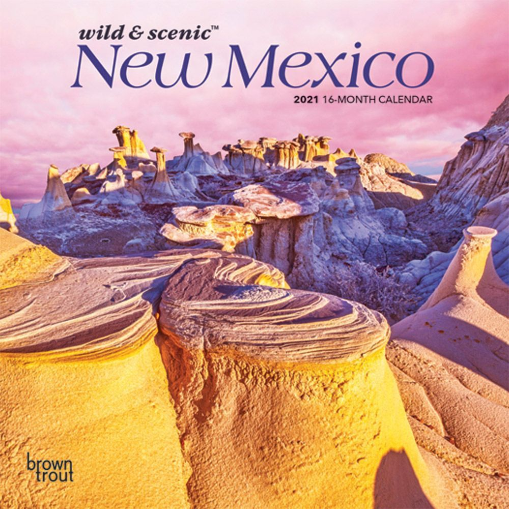 New Mexico Mini 2021 Wall Calendar