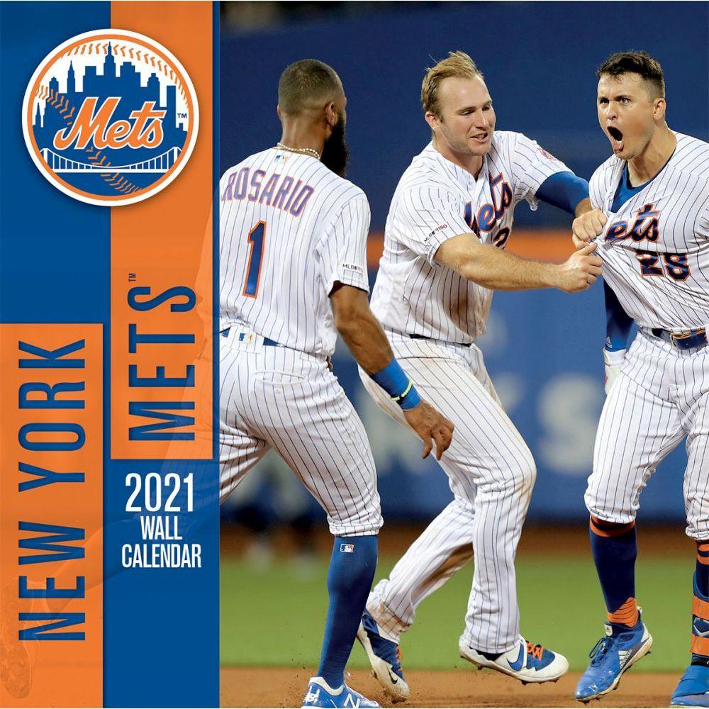 New York Mets 2021 Wall Calendar