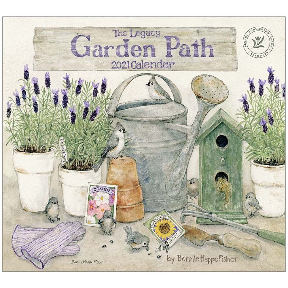 2021 Garden Path Fisher Wall Calendar