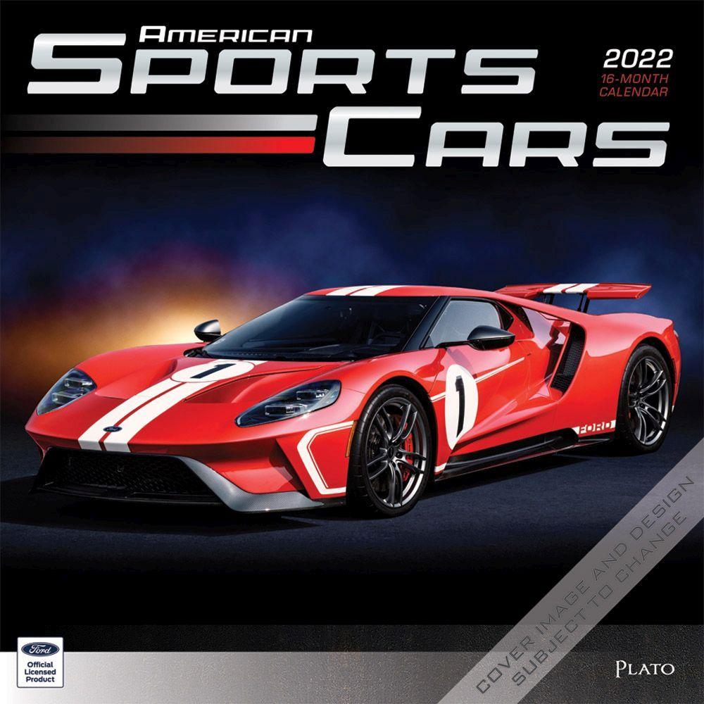Sports Cars 2022 Wall Calendar