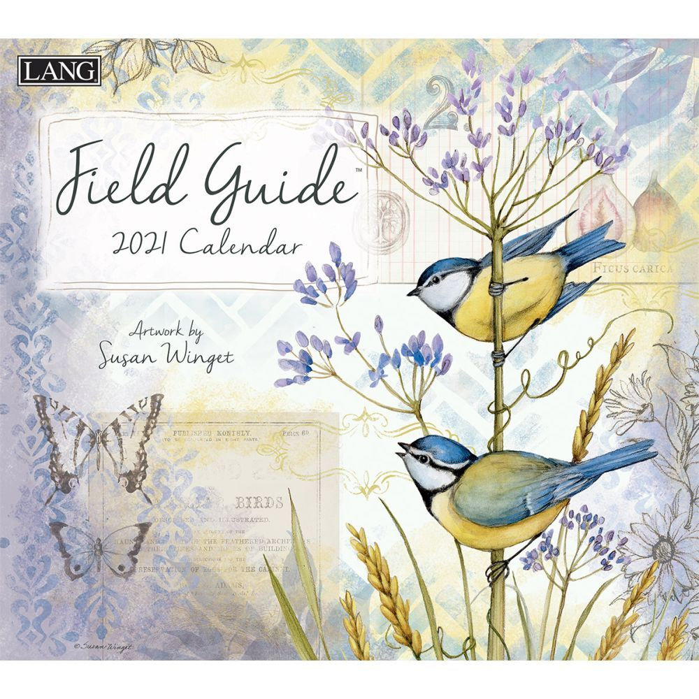 2021 Field Guide Wall Calendar by Susan Winget