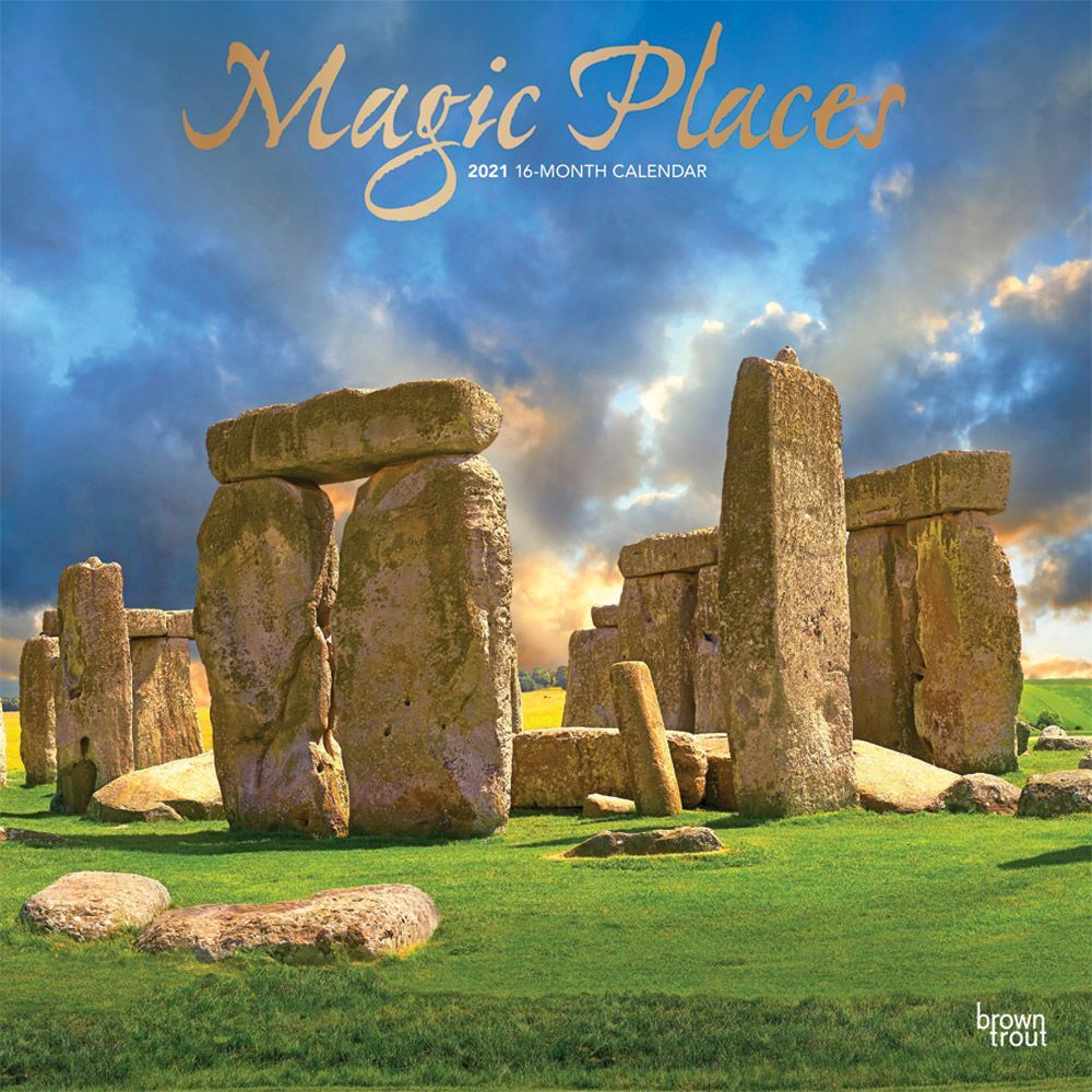 2021 Magic Places Wall Calendar SV