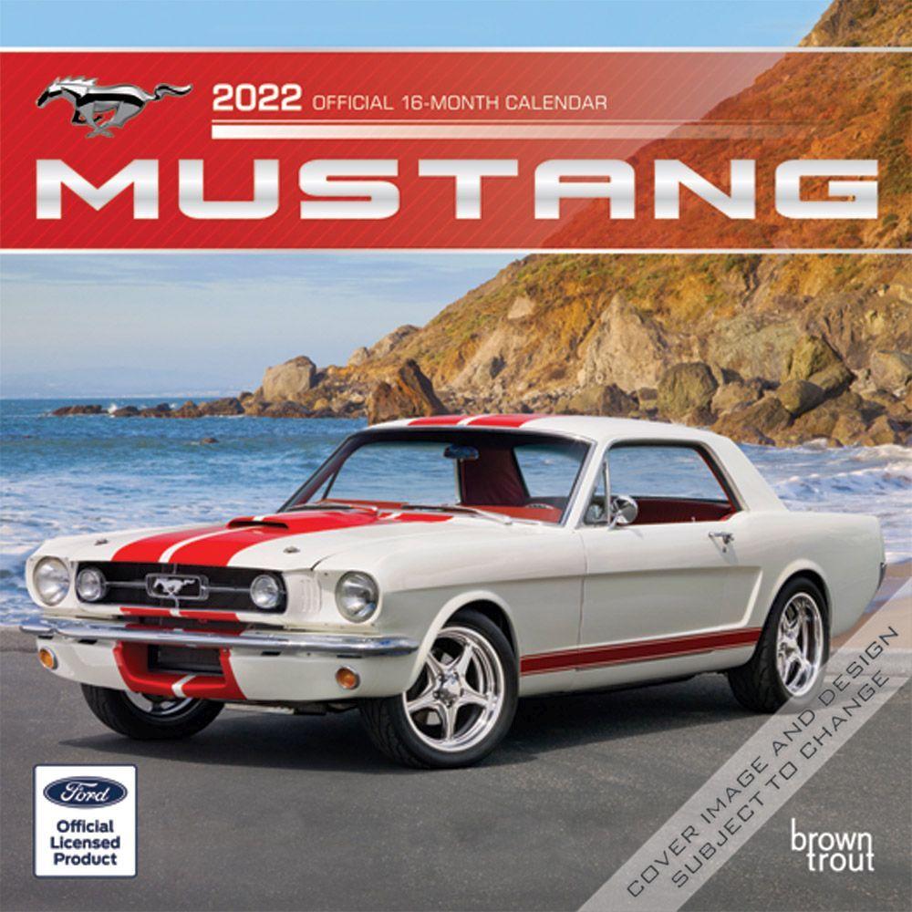 Mustangs 2022 Mini Wall Calendar