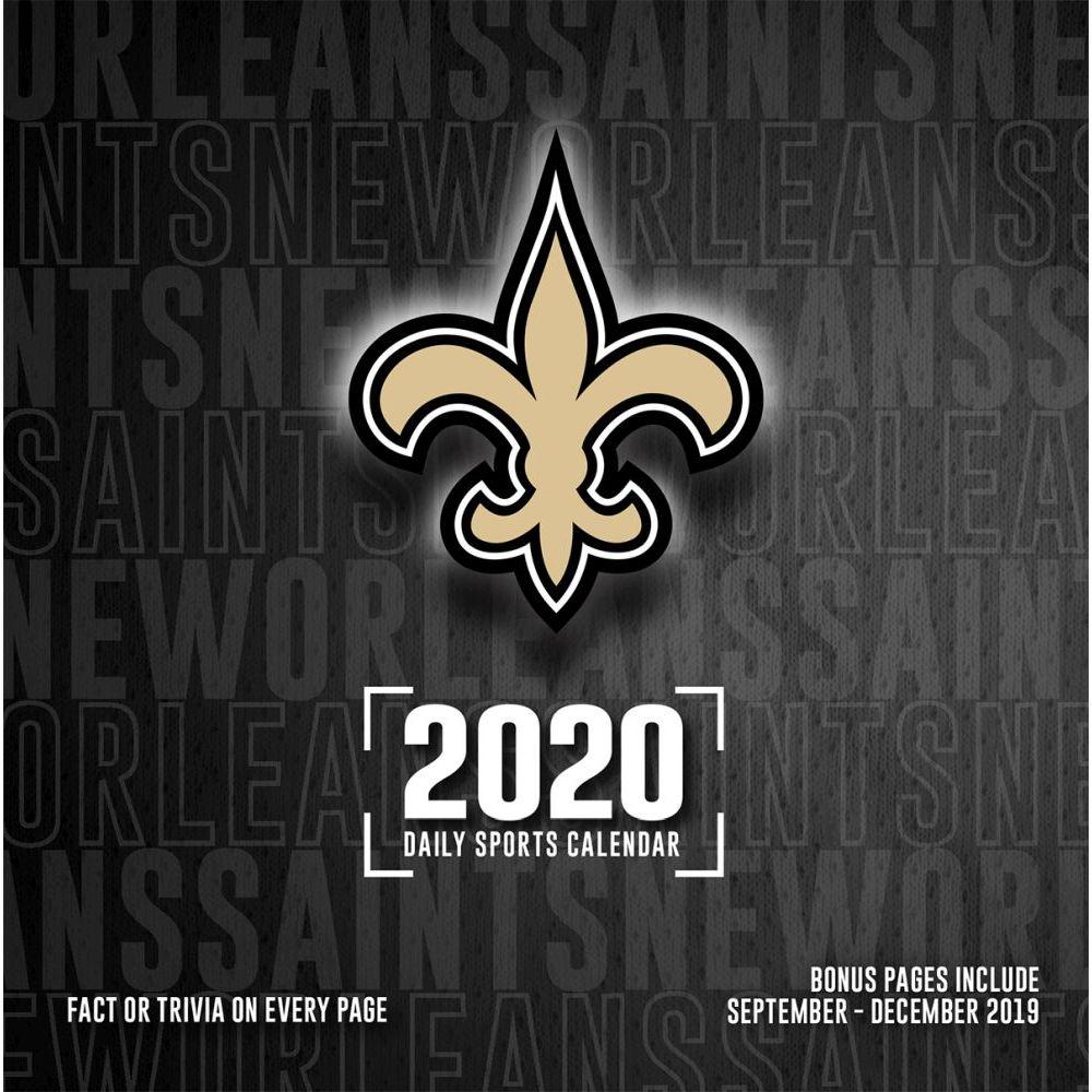 New Orleans Saints 2021 Desk Calendar