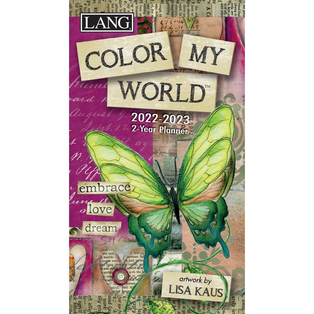 Color My World 2022 Two Year Planner