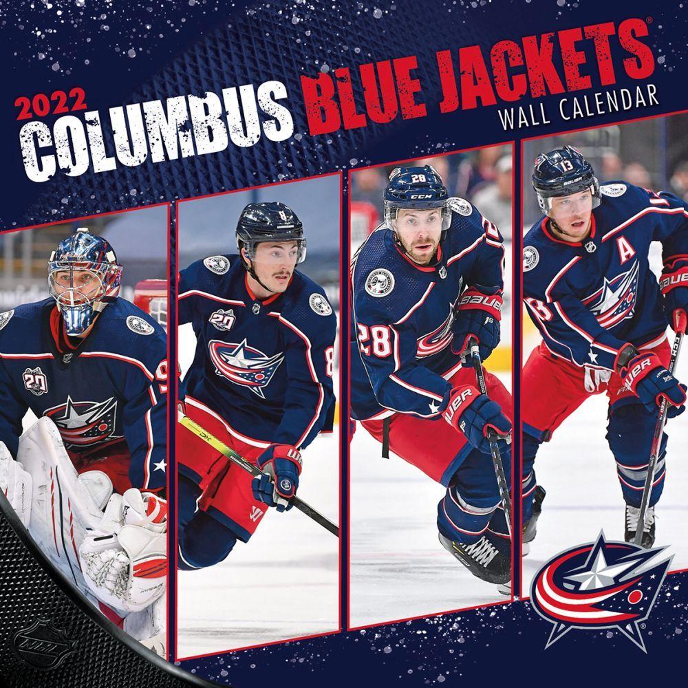 Columbus Blue Jackets 2022 Wall Calendar