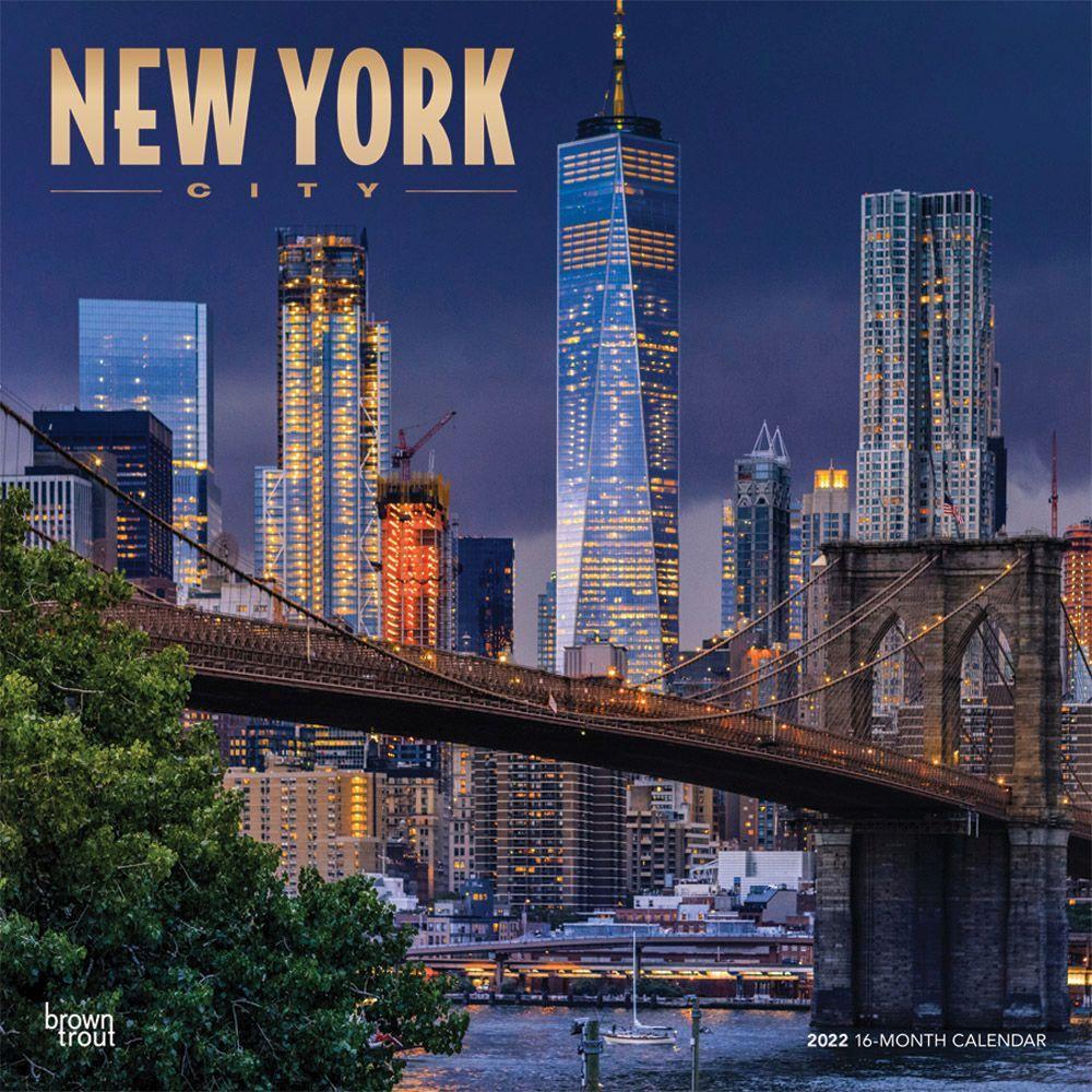 New York City 2022 Wall Calendar
