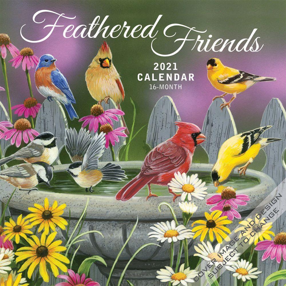 2021 Feathered Friends Wall Calendar