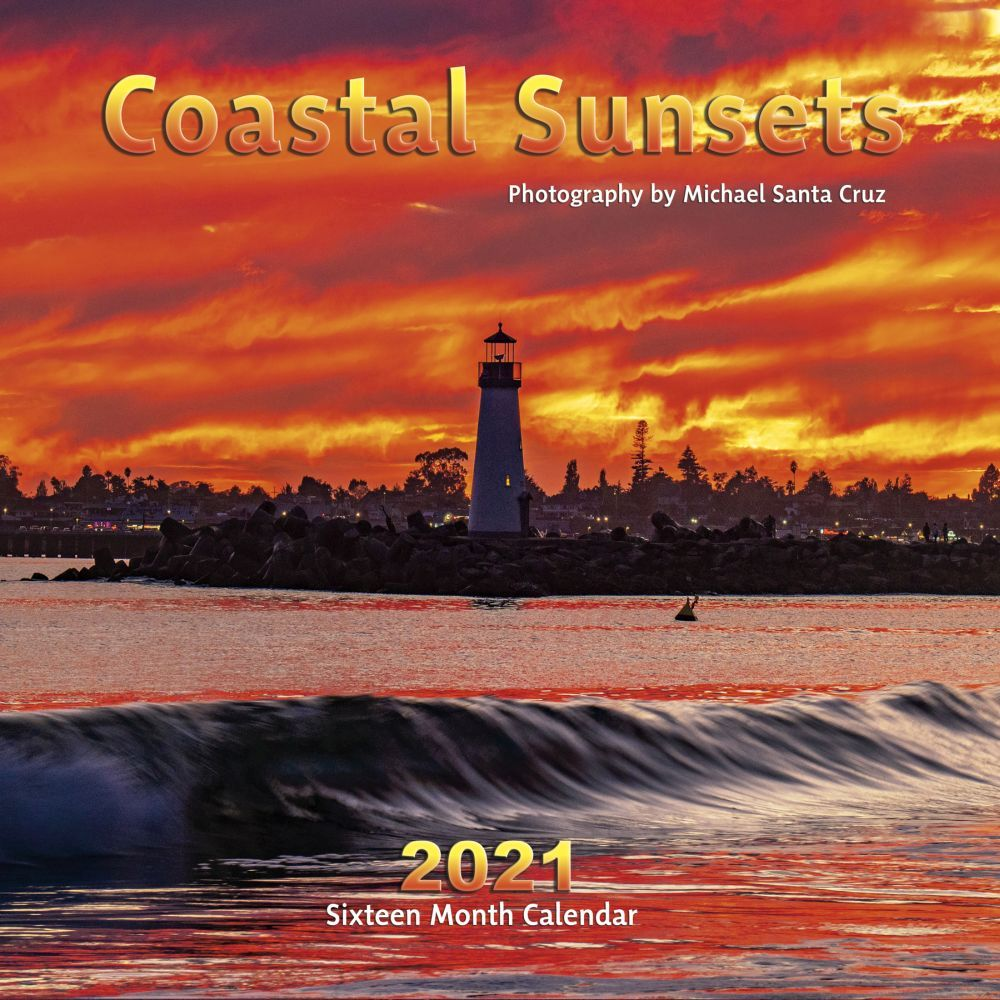 2021 Costal Sunsets Wall Calendar